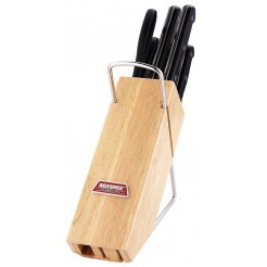 Bergner Messenblok met 5 messen en schaar